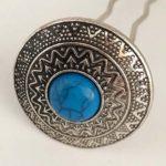 Silber/Blau