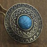 Doré/Turquoise