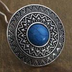 Argenté/Bleu