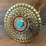 Golden/Turquoise